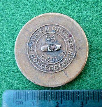 Blennerhassett Livery Button - reverse