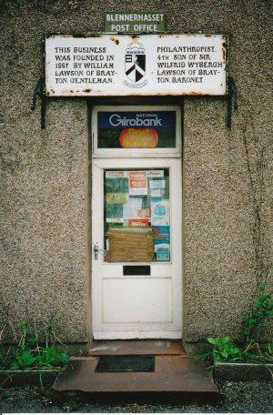 Blennerhasset Village Post Office