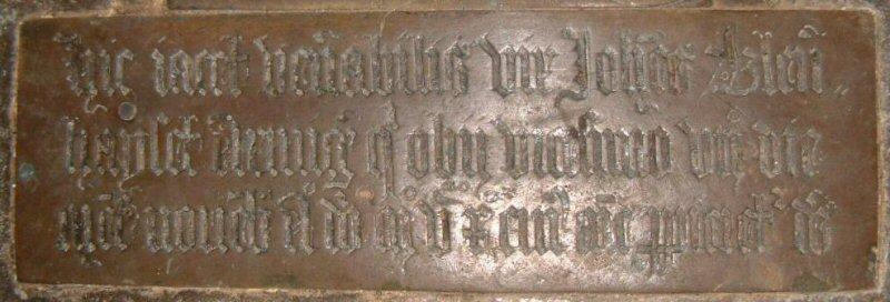 John Blennerhassett Esquire, d.1510; Frenze, Norfolk