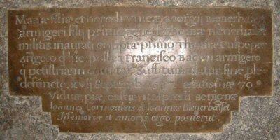 Mary Blennerhassett Bacon Culpepper d.1587