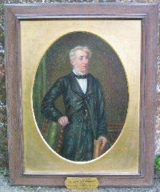 Portrait of Rev. John Blennerhassett (1803-1890), vicar of Ryme Intrinseca, Dorset