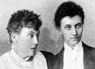 Rose Aimée Blennerhassett (left) and Lucy Sleeman, pioneer nursing sisters in East Africa, 1893